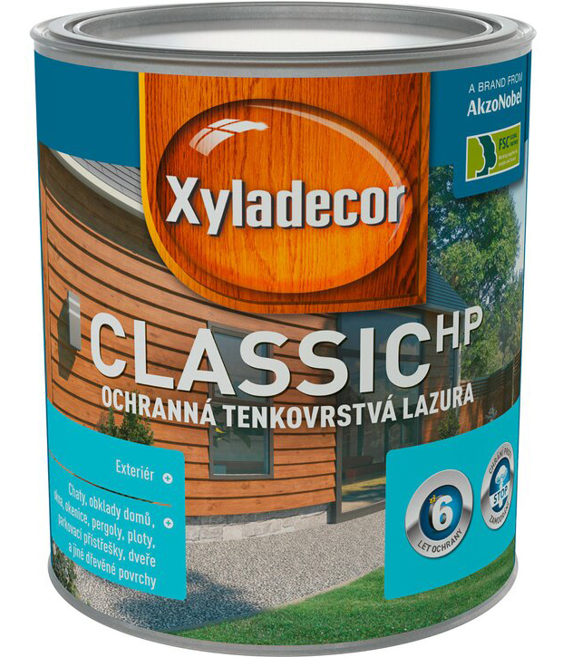 Xyladecor Classic HP cedr 0,75L